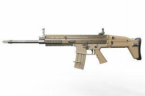 weapon gun rifle 3D model