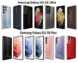 samsung galaxy s21 5g 3D