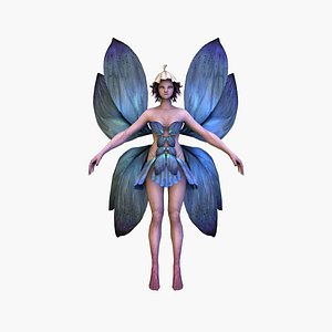 fairyv3 rigged model