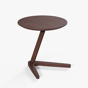 3D model Healey End Table walnut finish