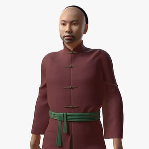 3D qing dynasty chinese model