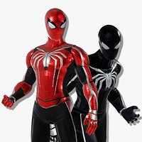 Spiderman Custom Suit design - character asset