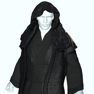 Jedi Cloth 3D model