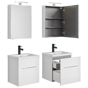 3D model Furniture set Porto 50-60-70-80  Pencil case and Timo Saona