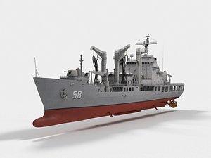3D AOE-58 Daecheong Cheonji-class