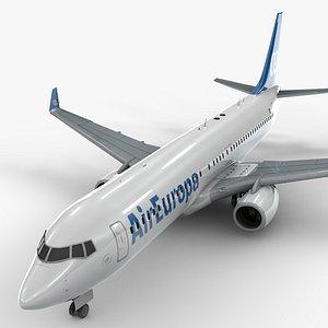 Boeing 737-8 MAX AIR EUROPA L1339 3D