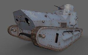 tank strv fm model