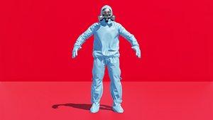3D health worker