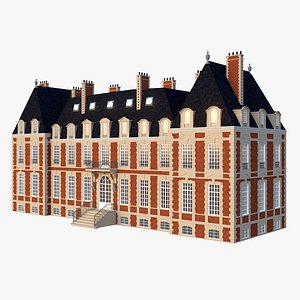 Classic French Mansion 3D model