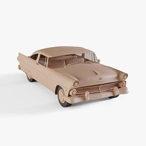 3D 1955 Ford Fairlane Crown Victoria