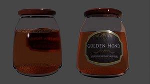 honey jar model