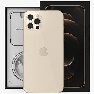 3D iphone 12 pro unboxed model