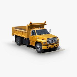 f700 dump truck 3D model