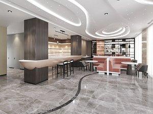 3D The Hotel Lobby 2