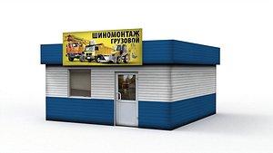 3D model Car service