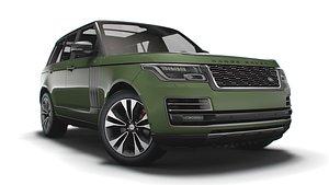 3D Range Rover SVAutobiography Ultimate 2021