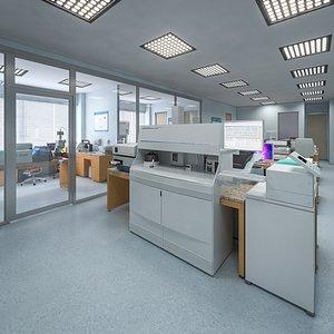 laboratory lab 3D model
