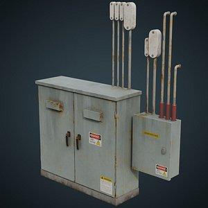 3D Utility Box 4B
