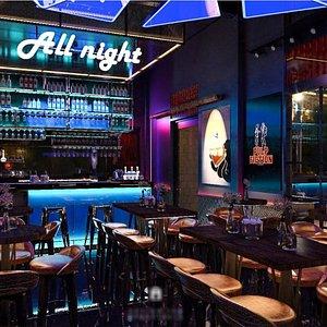 3D night club interior 3d model model
