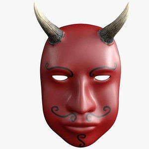 3D Devil Mask