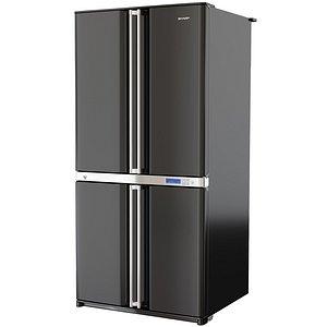 3D model refrigerator fridge