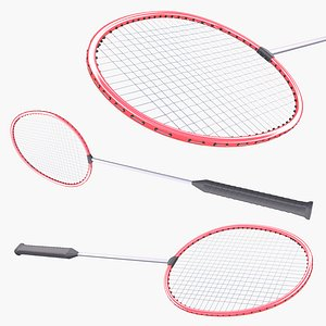 3D Badminton Racquet