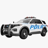 Ford Explorer 2020 Police 03