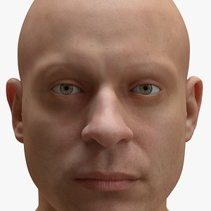 3D model realistic male body