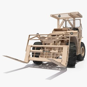 pettibone rough terrain military forklift 3D model