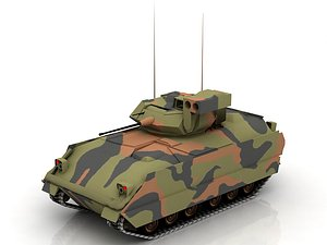 3D M2A2 Infantry Fighting Vehicle