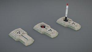 3D missile silo