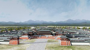 Chinese Ancient City 3D