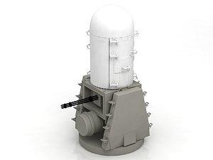 3D model Phalanx Mk-15 Raytheon CIWS