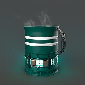 Mug Reactor 3D model