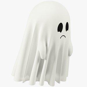 Funny Ghost Small V3 3D model