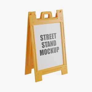 orange street stand model