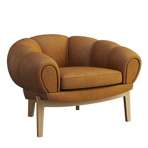 CROISSANT LOUNGE Chair 3D