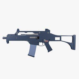 Assault Rifle G36 3D model