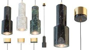 lampatron ping chandelier 3D