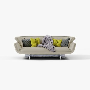 3D cassina beam couch