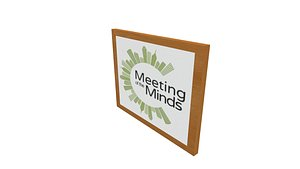 3D Meeting of the Mind poster