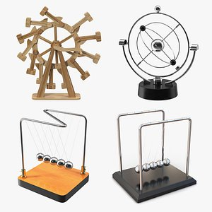 3D Perpetual Motion Machines Collection 3 model