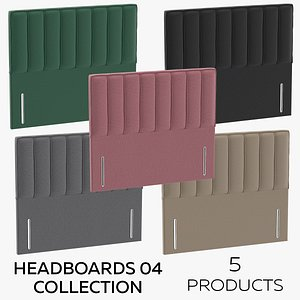 3D model Headboards 04 Collection