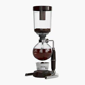 3D model Hario Coffee Syphon