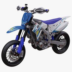 TM Racing SMX 450 Supermoto 2015 3D model