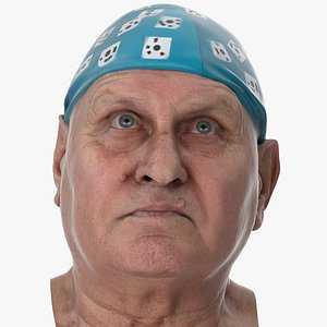 Homer Human Head Eyes Turn Up AU61 Clean Scan 3D model