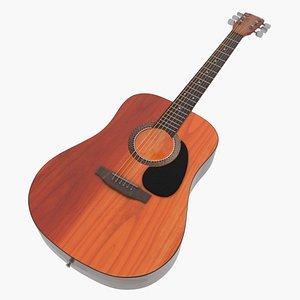 guitar instrument music 3D model