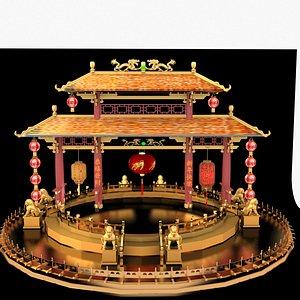 ancient lantern 3D model