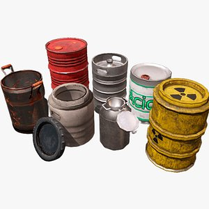 3D barrel container industry