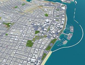 Concord California USA 3D model